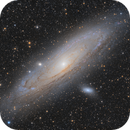 Andromeda - with the Esprit 80 and the 130PDS,                                alexbb