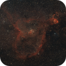 IC1805 / Heart Nebula and IC1795 / Fish Head Nebula,                                Mario Gromke