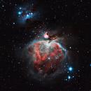Orion Nebula & Running Man,                                Ahmet Kale