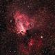 Swan Nebula M17, Sh2-45 LRGB and NB Enhanced RGB,                                TWFowler