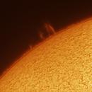Second Image of the Sun - Making some progress,                                Kurt Zeppetello