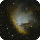 NGC281 Medium Field Narrow Band Alt. Blend,                                mikefulb