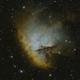 NGC281 Medium Field Narrow Band Alt. Blend,                                mikefulb