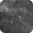 NGC6888 test Halpha,                                Steve Bouvier
