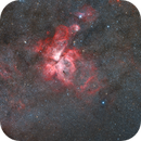 Eta Carina Nebula and Southern Pleiades,                                Paul Ng