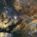 Butterfly Nebula in SHO,                                John Kroon