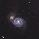 Whirlpool Galaxy - M51,                                Thomas Richter