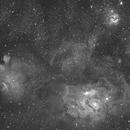 M8 - The Lagoon Nebula / M20 - The Trifid Nebula,                                Matthew Russell