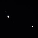 Jupiter & Saturn Conjunction 12/21 (Overexposed),                                Derek