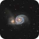 Messier 51 The Whirpool Galaxy,                                Barry Wilson