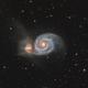 Messier 51 The Whirpool Galaxy,                                Barry Wilson