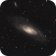 M106 - Another Great Spiral in Canes Venatici,                                Ludger Solbach