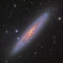 NGC 253,                                Fluorine Zhu