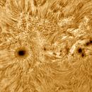 Solar chromosphere 20201108,                                Sergio Alessandrelli