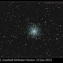 M12, Gumball Globular Cluster,                                David Dearden