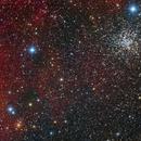 NGC2451 and NGC2477 ,                                Roberto Colombari