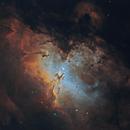 M16 Eagle Nebula 20200527 9000s LSHO RGB Stars 01.3.3,                                Allan Alaoui
