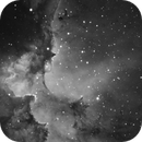 NGC 7380 - The Wizard Nebula in Hydrogen Alpha,                                Hap Griffin
