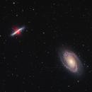 Bode's Galaxy and Cigar Galaxy (Messier 81/82),                                JMDean