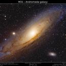 M31 - The Andromeda Galaxy,                                Brice Blanc