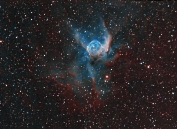 Thor's Helmet NGC2359 (dual Rig),                                  Carastro