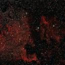 North America and Pelican Nebula,                                Roberto Frassi