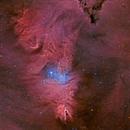NGC 2264 HA-LRGB,                                LAMAGAT Frederic