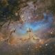 M16 Eagle Nebula,                                Carastro