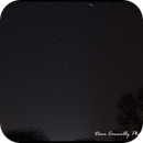 Shooting Star over Panstarrs and M31,                                manic_dave