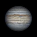 ANIMATION Jupiter and Europa Transit - 06/22/19 - 03:46 to 05:41 UTC,                                Jarrett Trezzo
