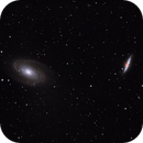 Bode's Galaxy And The Cigar Galaxy, Messier 81 and 82,                                Steven Hanaway