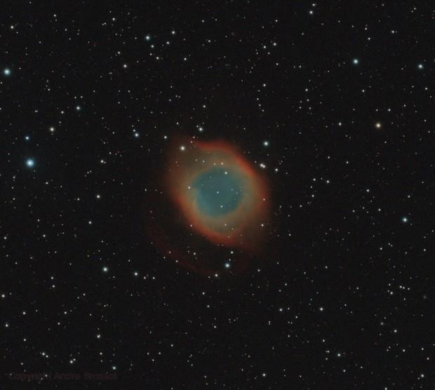 Helix Nebula - 1 hour integration,                                Andre Brossel