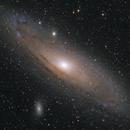 M31 LRGB (f/3.6 with Apex reducer),                                rhedden