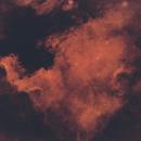 The North American Nebula - Starless,                                Sagarinku