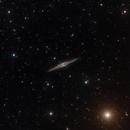 NGC891 new RGB frames,                                christian.hennes