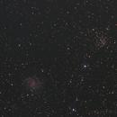 Fireworks Galaxy NGC 6946 and open cluster NGC 6939,                                rflinn68