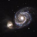 M51 - Whirlpool Galaxy,                                Niklas Hauber