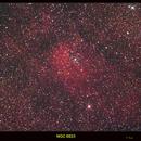 NGc 6823 and Sharpless 2-86-H alphaRGB,                                Lawrence E. Hazel