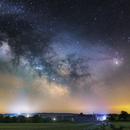 Milky way with Rho Ophiuchi,                                Makár Dávid