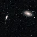 Progetto M81 e M82 da Roma RGB + Ha,                                Marco da Roma