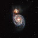 M51 - The Whirlpool Galaxy,                                Deddy Dayag