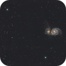 M 51 full field new color balance,                                pete_xl