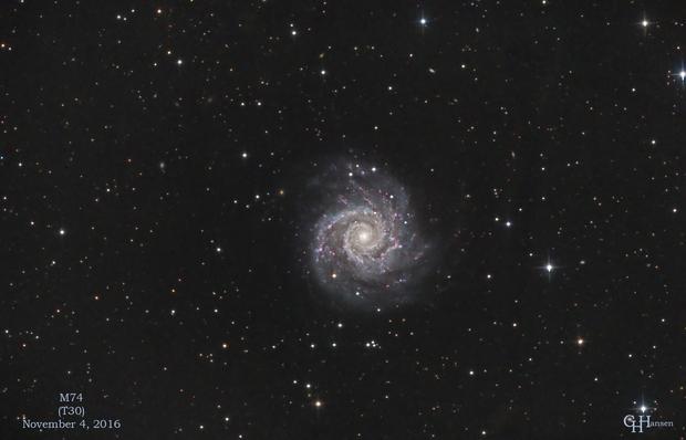 M74,                                Gordon Hansen