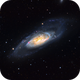M106 LRGB+Ha,                                Mark Holbrook
