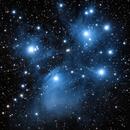 M45 Pleiades Cluster,                                denimsuitphoto