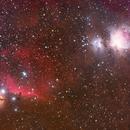 Orion, Horsehead nebula widefield,                                Byoungjun Jeong