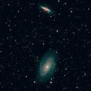 M 81 & 82 - HaRGB reworked,                                gigiastro