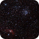 M-52 and Bubble Nebula,                                iverp