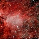 Prawn Nebula - IC 4628,                                Leo