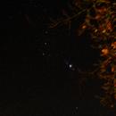 M42 Orion-Nebel, 50mm, ISO-400, 70sec,                                Torsten